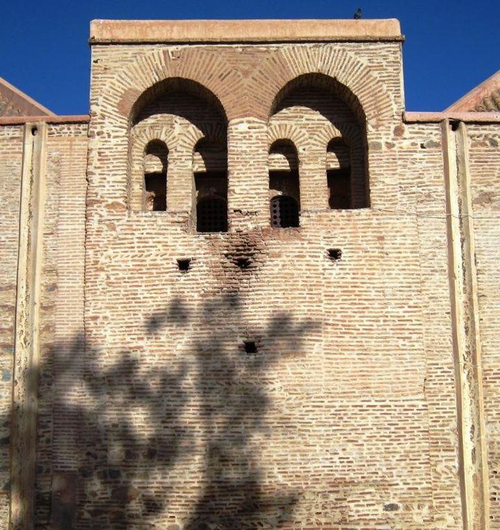 Photo prises à Marrakech lors des activités de l'Ecole Nationale d'Architecture de Fès.