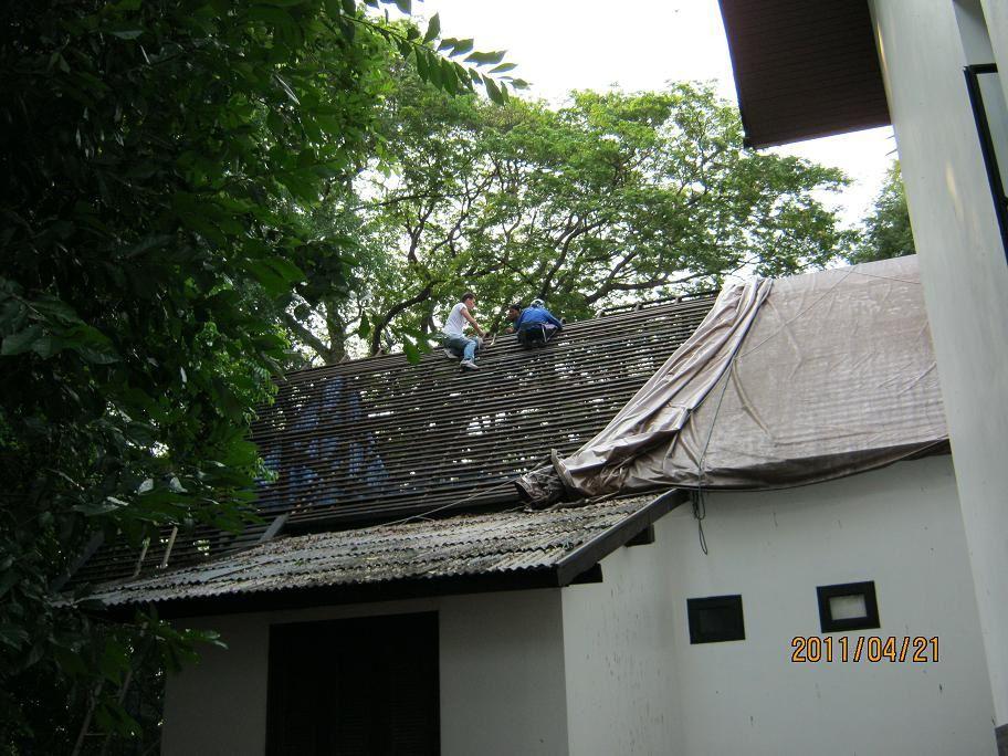 Refurbishing a RoofRenovation d'un toit