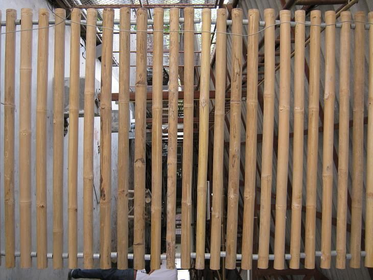 For interior and exterior.Interior to separate sections - exterior as siding.