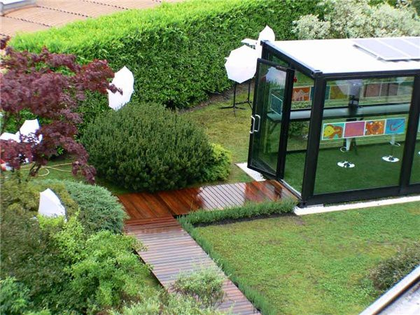 An ecological way to create lodging and or business premises is to transform shipping containers.