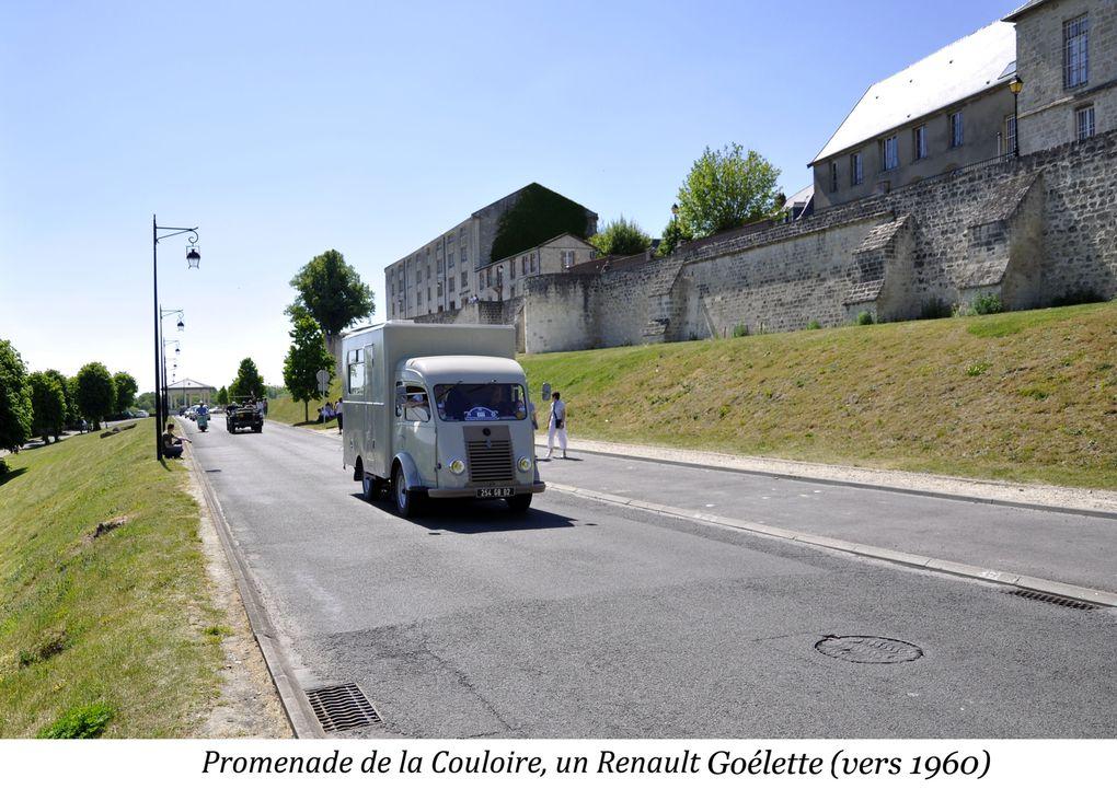 Fin mai,début juin rassemblement d'anciens véhicules, parade dans la ville de Laon le dimanche sur un circuit de 16 km