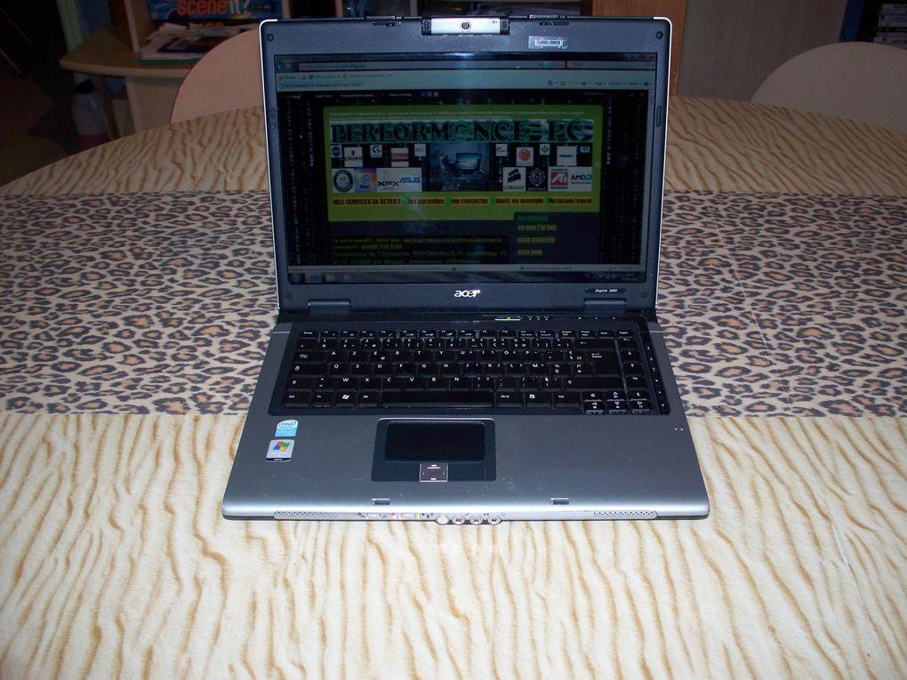 Depannage PC Portable Acer Aspire 3690 Series Que j'ai éffectué a une sympatique cliente