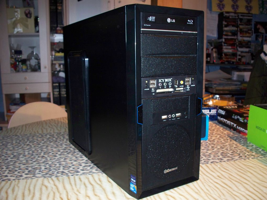 devis PC Gamer Extreme 4 3d vision Que je propose a la vente pour achat