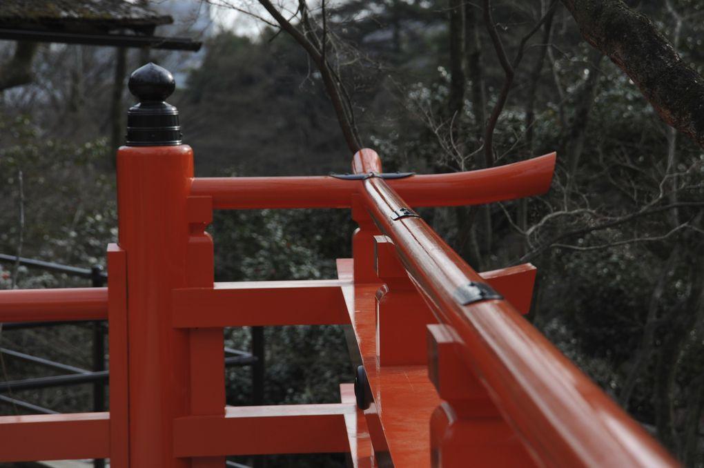 nous sommes dans le mois des pruniers en abricotiers en fleurs.tournoie de sumo et petit défilé de kimono danse de maiko