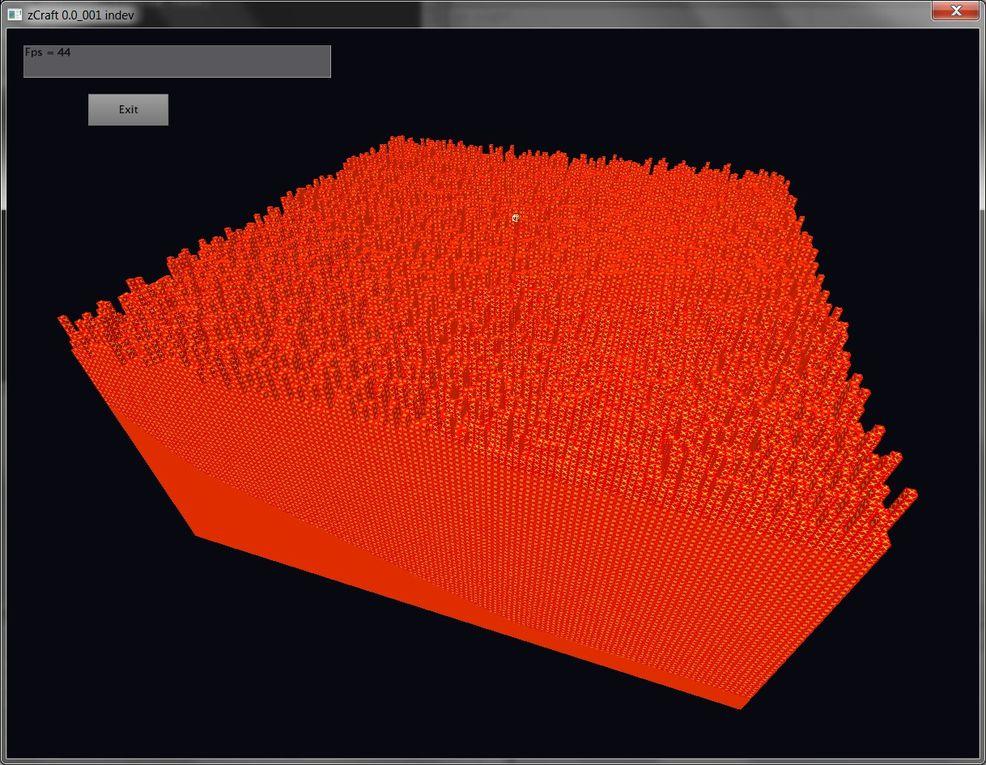 Images de mon projet zCraft. J'en poste de nouvelles quand il y a du nouveau.