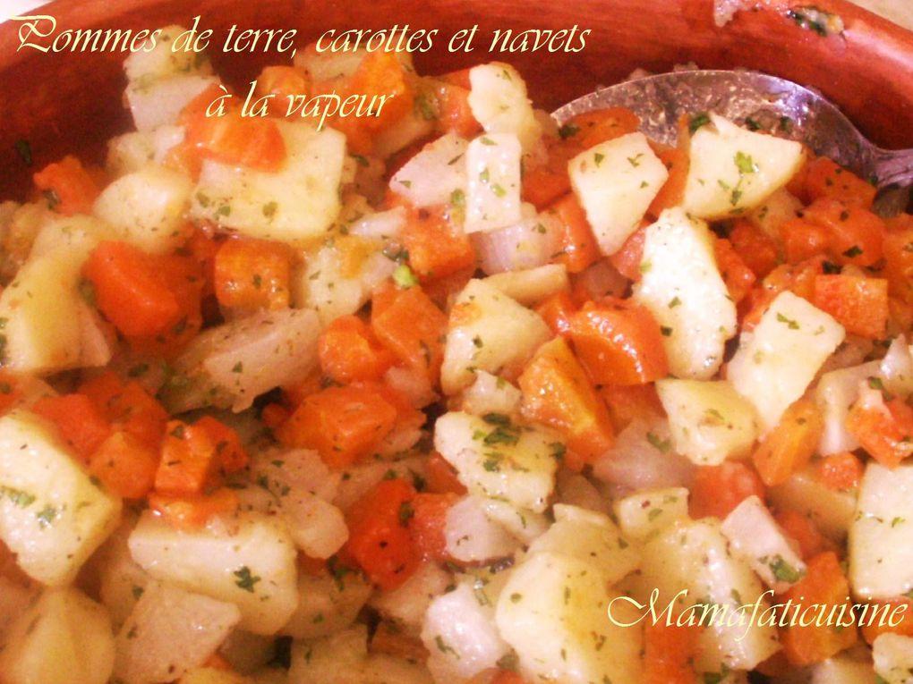 Cuisiner simplement sain et équilibré avec des petites folies de temps en temps.