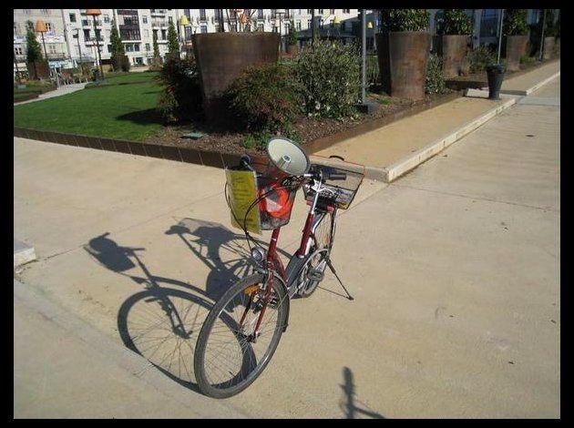 1ère vélorution à Périgueux !