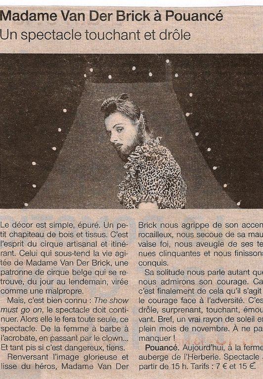 Album - articles de presse