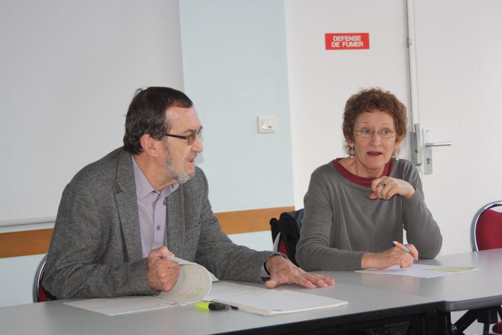 Vues prises pendant l'assemblée générale de l'AEPB à Pontivy le 18 février 2011. Election de Nelly Fruchard à la présidence.