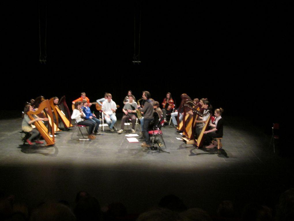 Vues de Poher Musik, prises le 15 février 2014 à l'espace Glenmor de Carhaix.Une manifestation carhaisienne musicale de belle ampleur et de grande qualité, dans un espace parfaitement adapté.