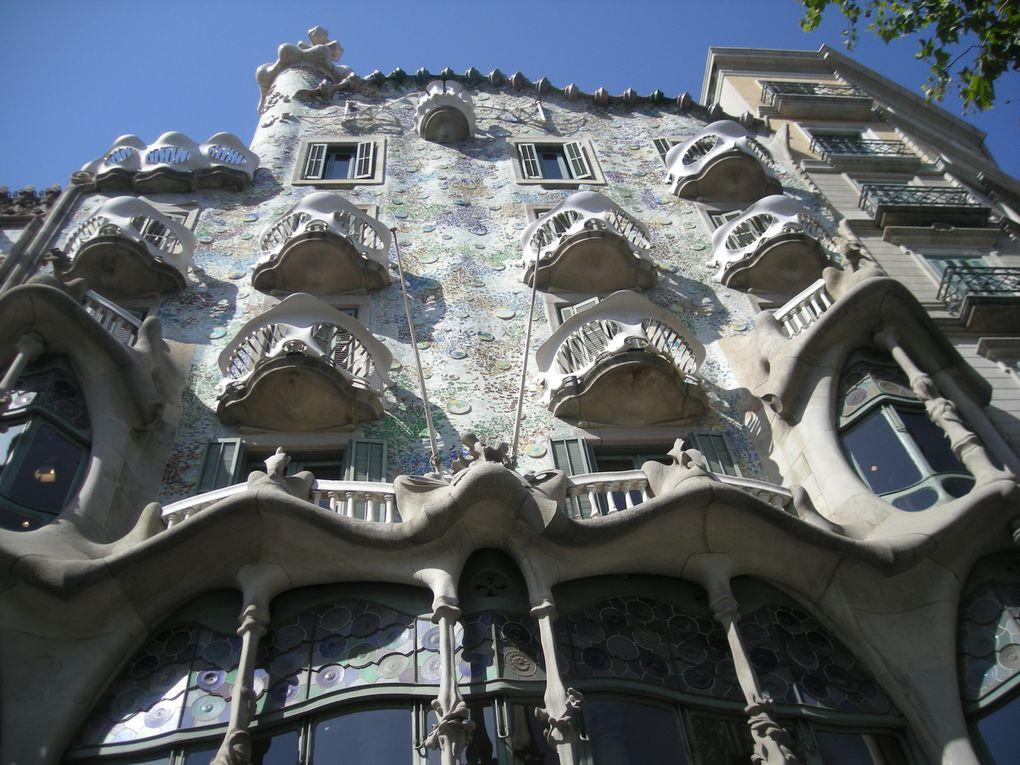 Photos prises à Barcelone entre le 22 juillet et le 5 août 2012