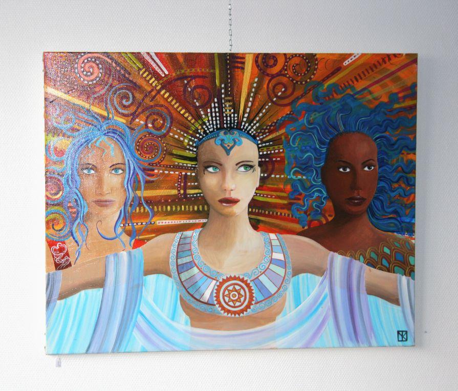 Douze vues des oeuvres de Yann Quéméneur exposées au Centre Yezhoù ha Sevenadur du 9 au 23 janvier 2010.