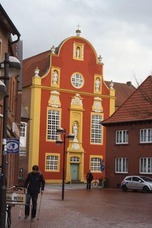 Vues de notre bref séjour en Basse Saxe, en février 2012, dans le prolongement amical d'échanges linguistiques entre établissements.