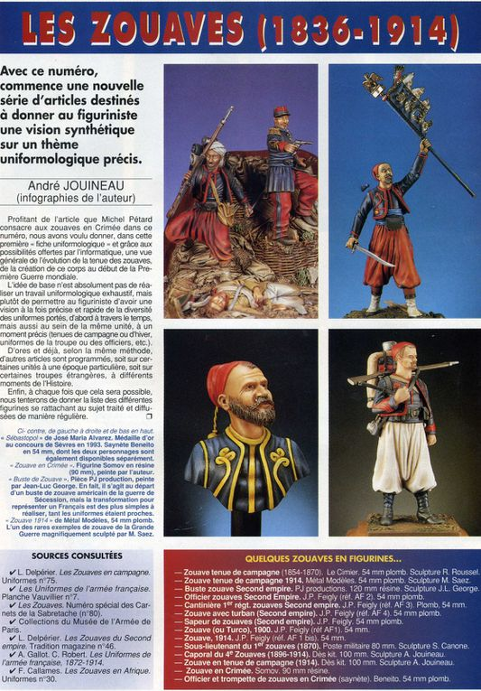 Illustrations sur les Zouaves