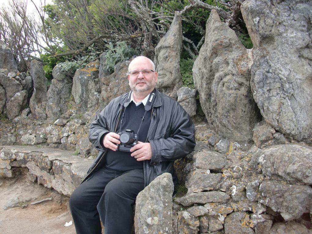 Les rochers sculptés par l'abbé Fouré