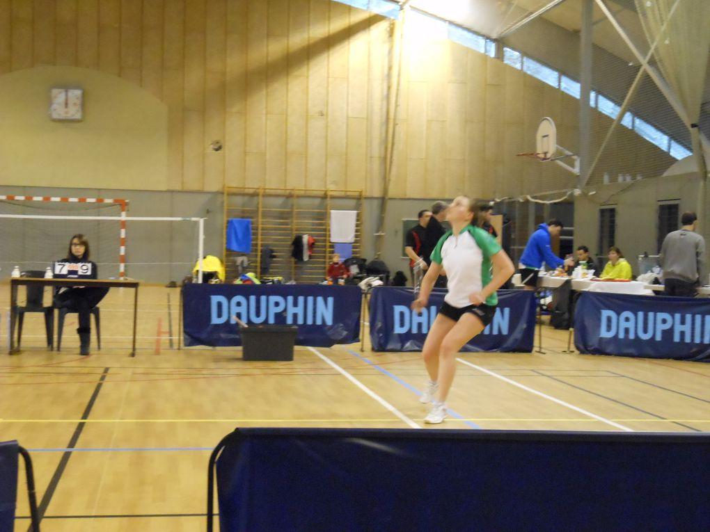 Week-end de N3 à Clermont entre badminton et skis
