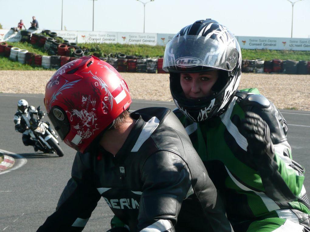 Les photos de notre journée Baptêmes duo moto sur le circuit Carole