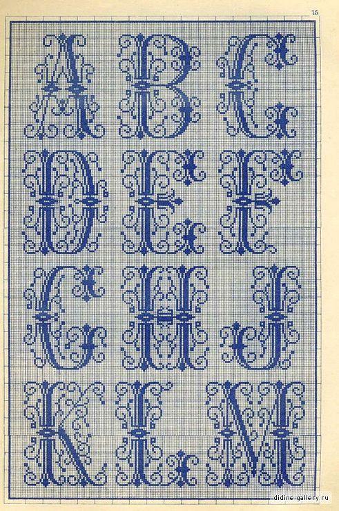 Album - Alphabets ancien &quot&#x3B;Inclassables&quot&#x3B;