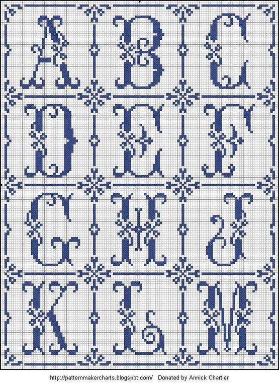 Album - Alphabets anciens &quot&#x3B;Rouyer&quot&#x3B;