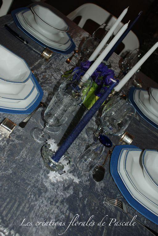 Créations florales et plaisir de faire une jolie table...