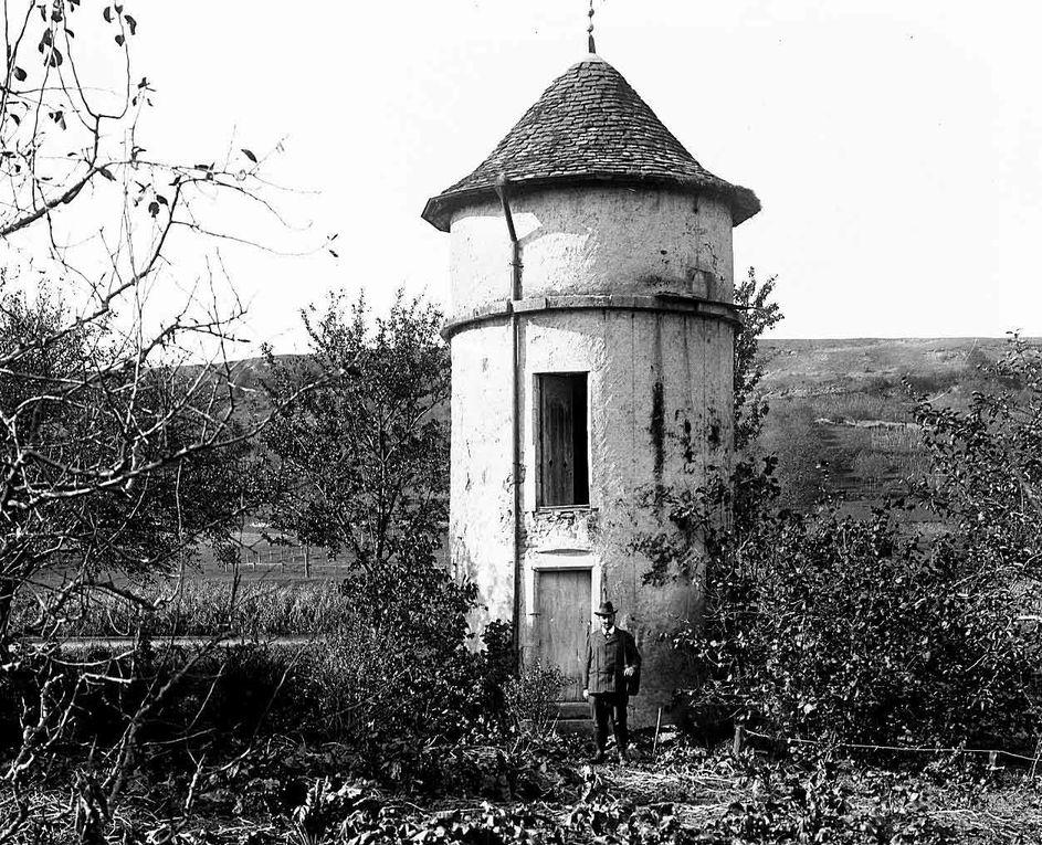 Notre jardin en 1900-1920