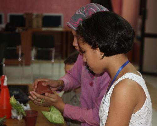 Voici quelques photos que j'ai prises lors de ma seconde visite à la maison de l'environnement de Annaba. Cette fois-ci j'ai pu assister à un atelier vert....