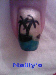nail art sur ongles naturels
