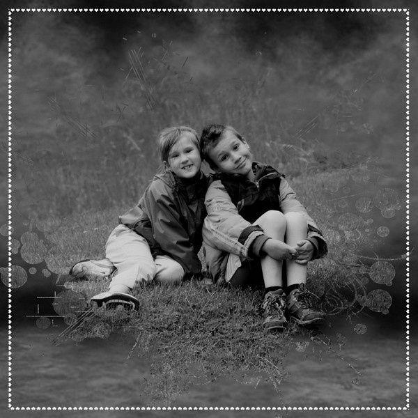 Album - noir---blanc-sur-couleur
