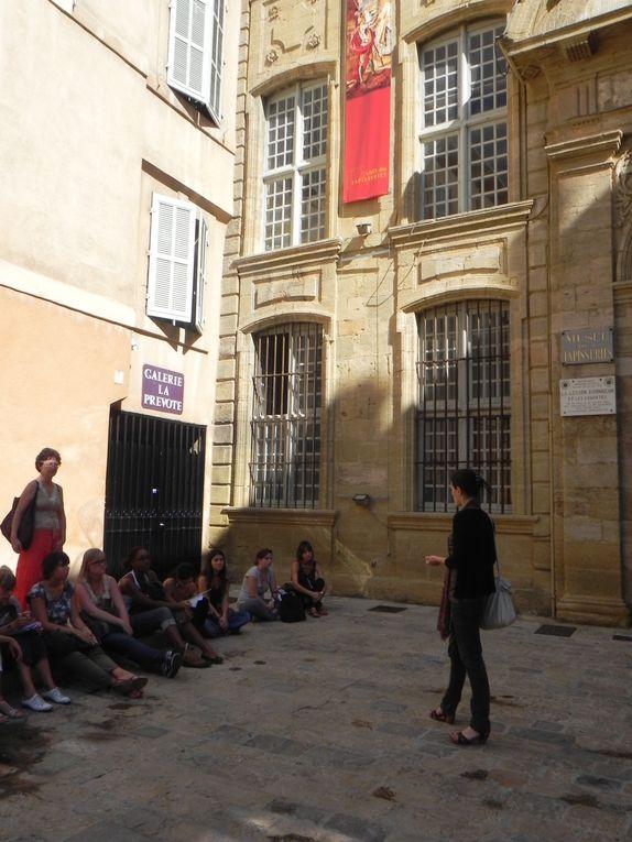 Visite commentée de la ville d'Aix-en-Provence avec Cloé Deroint, médiatrice du patrimoine d'Aix.
