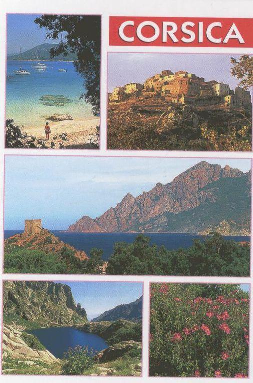 Album - CARTES-CORSE et ITALIE