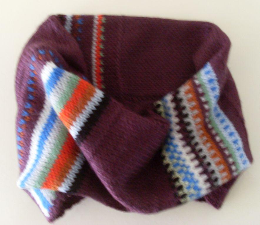 Bonnets - Echarpes - Cols - Mitaines - Manchons - Cravates - Sacs - Col Echarpe etc... Du sur-mesure à vos demandes. Toutes commandes sur devis par email: joelle.bertrand@yahoo.com
