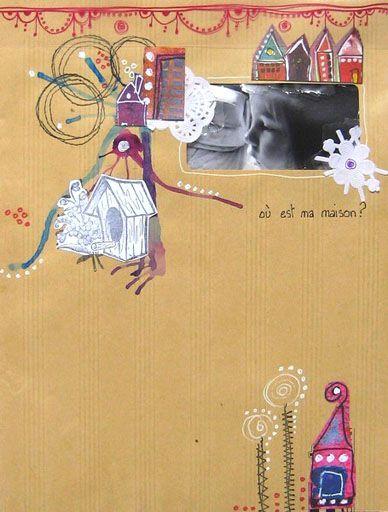 Marie-Nicolas, Nath 44, Gwen et Manuéla vous proposent à travers leurs pages des pistes pour utiliser les tampons l'Encre & l'Image
