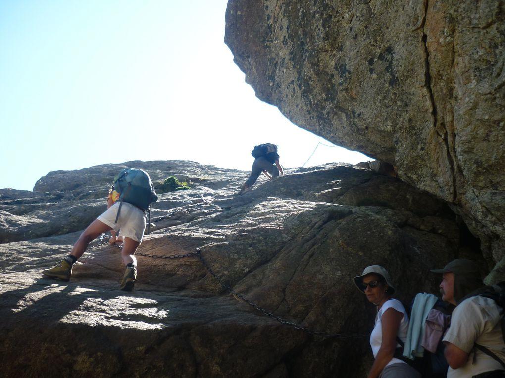 Une petite sélection de nos photos du gr 20, le mythique sentier qui, n'en déplaise à Brice de Nice, va du nord ouest au sud est de la Corse ...  Et il casses (les jambes)... &#x3B;-)
