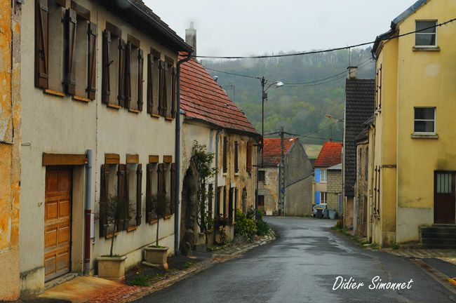 Un voyage à travers la Champagne et la pluie en avril 2012