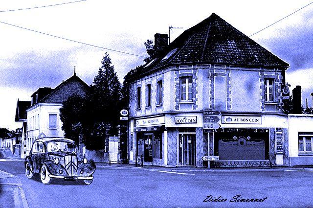 BLEU, par Didier Simonnet