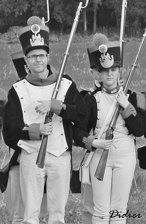 """Reconstitution de la bataille de Saint-Jean-les-deux-Jumeaux par l'association : """" Les Grognards de la Marne le 29 septembre 2013.Photographies : Didier Simonnet"""