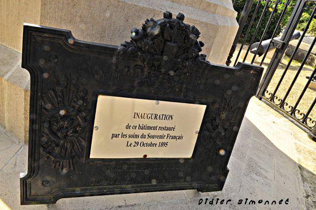 Monuments, Plaques Commémoratives, lieux historiques de la Campagne de France de 1814
