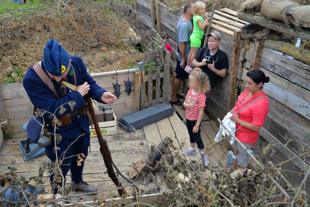 Reconstitution historique à CHAUCONIN-NEUFMONTIERS le 6 septembre 2014