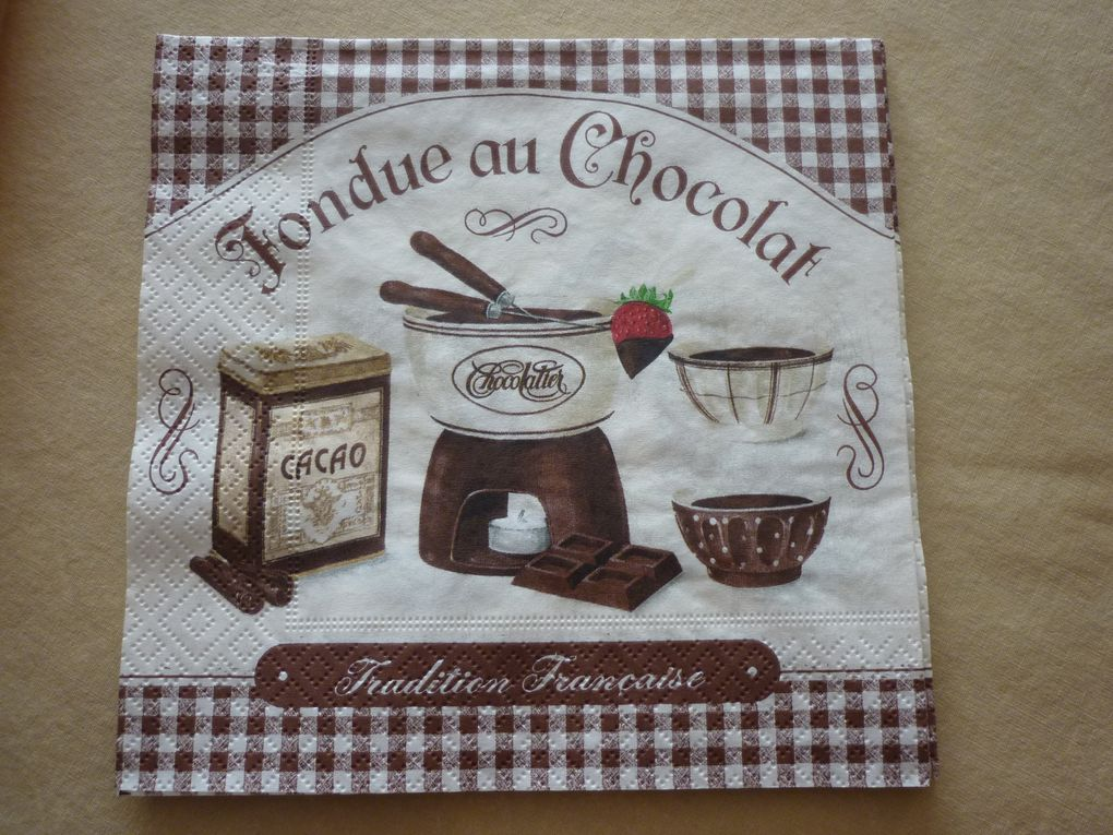 Album - Serviette Theme Cuisine