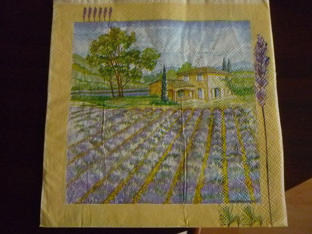 Album - Serviette Theme Provence