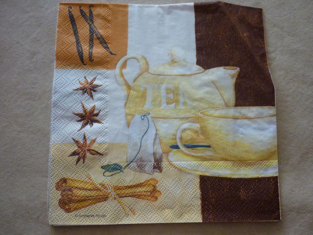 Album - Serviette Theme The ou Cafe