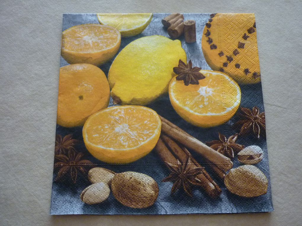 Album - Serviettes Theme Fruits et Legumes