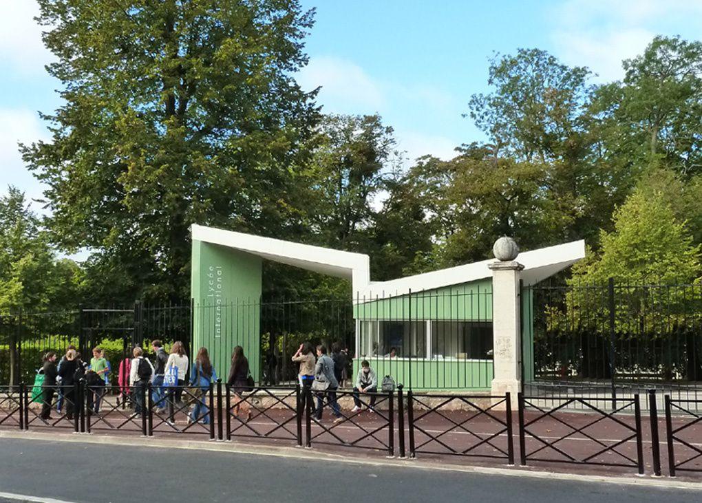 Album - Construction bâtiment d'accueil Lycée International ST GERMAIN EN LAYE