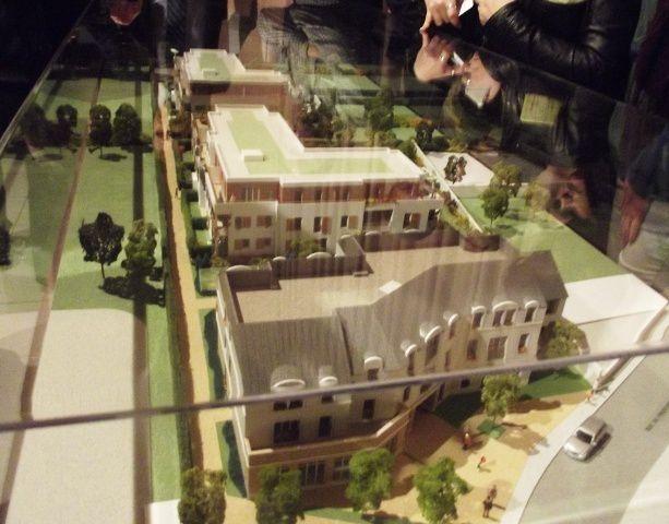 Quelques images du projet centre village présenté lors de la présentation et promotion vente du 3 nov. 2011