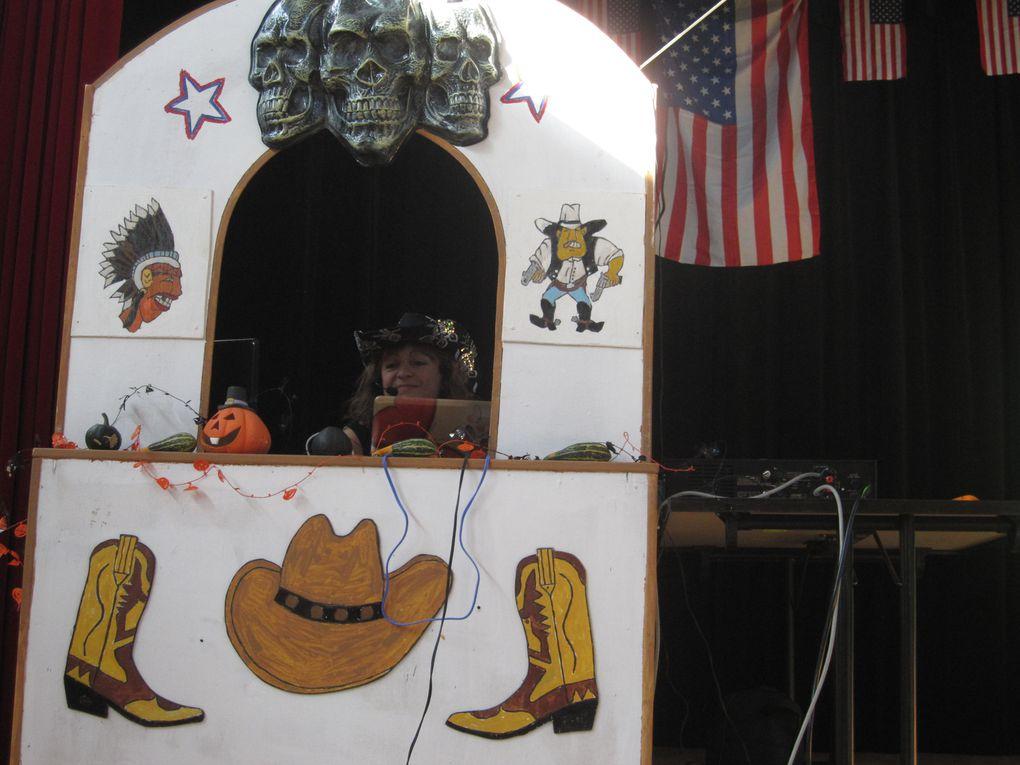 Très beau bal country pour Halloween à Dampierre chez Laura