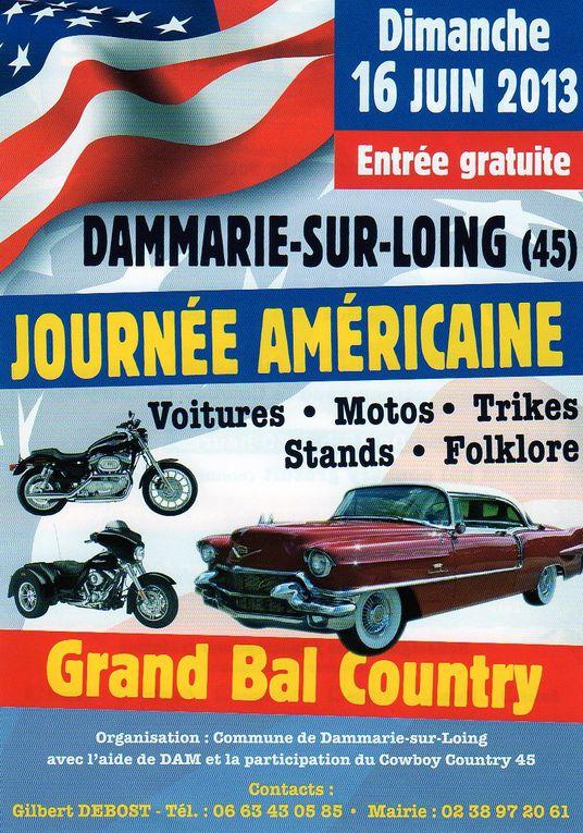 Journée Américaine à Dammarie sur Loing