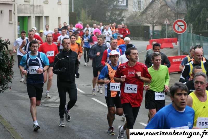 Courir à saint Grégoire et la Grégorienne janvier 2011