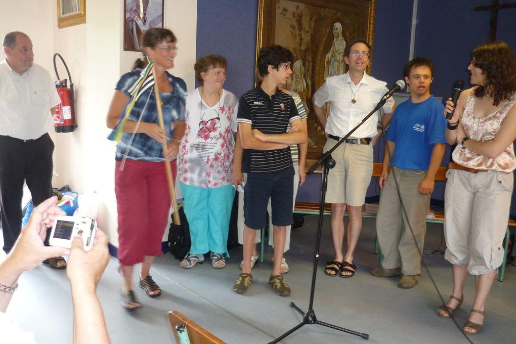 photos du pélé jeunes à Lourdes
