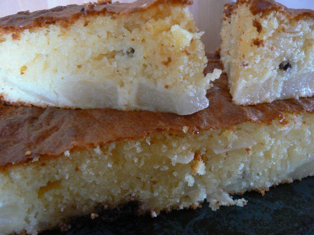 tartes, gâteaux et autres pâtisseries
