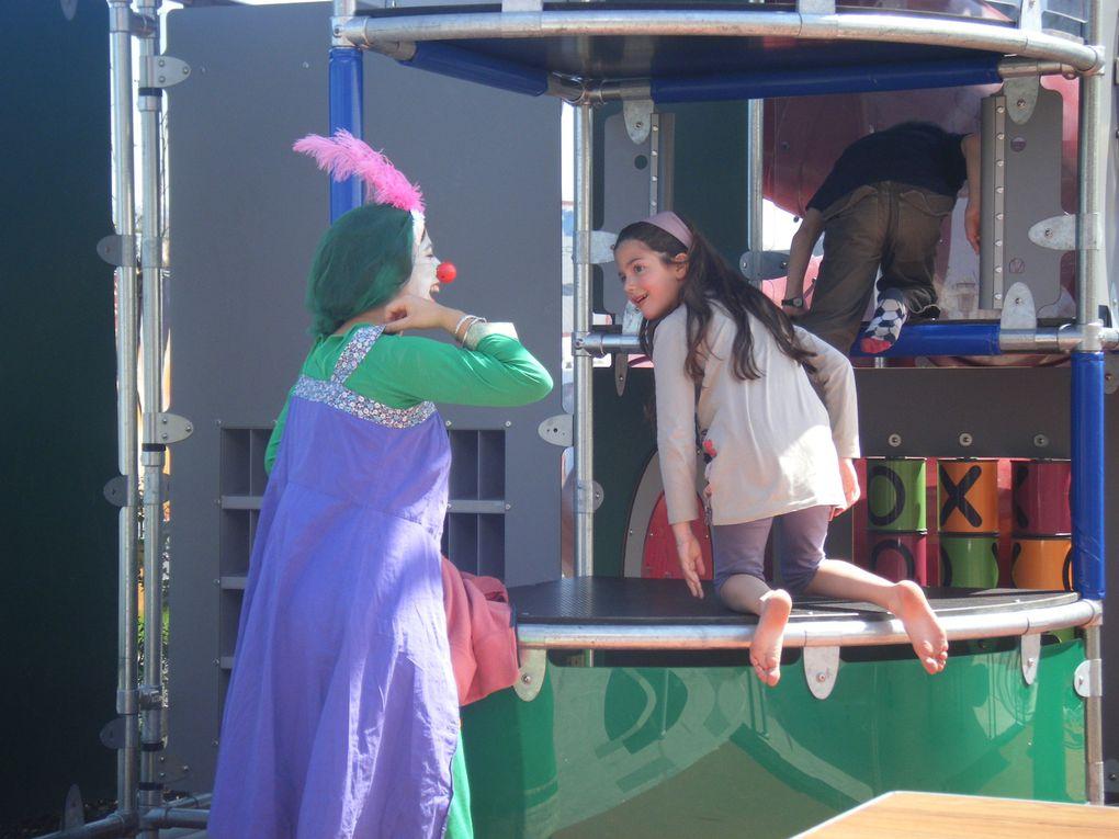 Quand les clowns vont voir leurs popin Rony